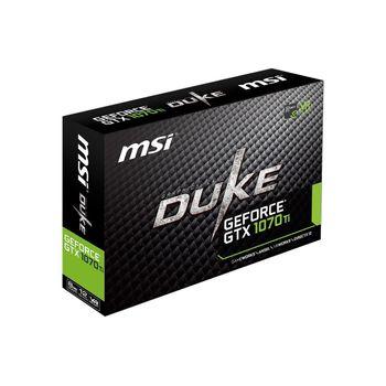 PLACA DE VÍDEO MSI GEFORCE GTX 1070 TI DUKE 8GB GDDR5