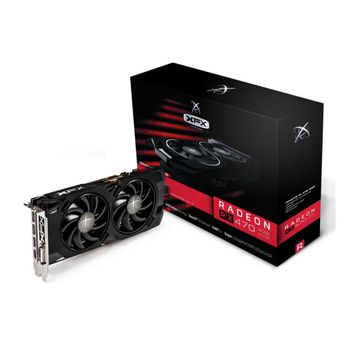 PLACA DE VÍDEO RX 470 4GB DDR5 XFX - RX-470P4LFB6