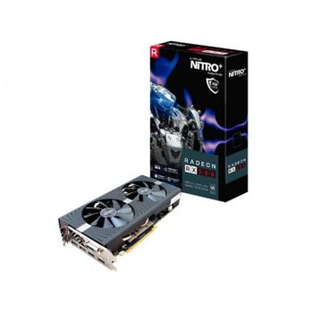 PLACA DE VIDEO SAPPHIRE NITRO+ RADEON RX 580 4GB GDDR5,11265-07-20G