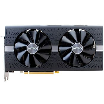 Placa de Video VGA AMD Sapphire RADEON RX 580 NITRO 8GB GDDR5 PCI-E Dual HDMI / DVI-D / Dual DP w/backplate - 11265-01-20G