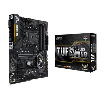 PLACA MÃE ASUS ATX AM4 TUF X470-PLUS GAMING