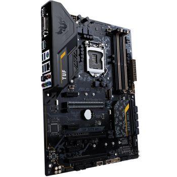 Placa-Mãe ASUS p/ Intel LGA 1151, ATX, TUF Z270 MARK 2, Overclocking design, Certificação Militar, USB 3.1 Tipo A e C,DDR4, SLI/CFX, DVI/HDMI