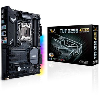 Placa-Mãe ASUS p/ Intel LGA 2066, ATX, TUF X299 MARK 2, DDR4, SLI/CrossFireX