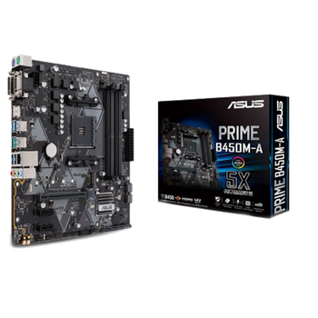 PLACA MÃE ASUS PRIME B450M-A USB 3.1 DDR4 AM4