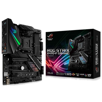 PLACA MAE ASUS ROG STRIX X470-F GAMING DDR4 SOCKET AM4 CHIPSET AMD X470