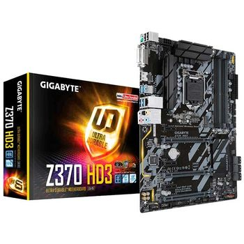 PLACA MÃE GIGABYTE Z370 HD3 RGB, LGA1151 CHIPSET INTEL Z370