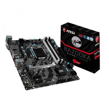Placa-Mãe MSI p/ Intel LGA 1151 mATX H270M BAZOOKA DDR4