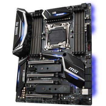 Placa-Mãe MSI p/ Intel LGA 2066 ATX X299 GAMING PRO CARBON DDR4