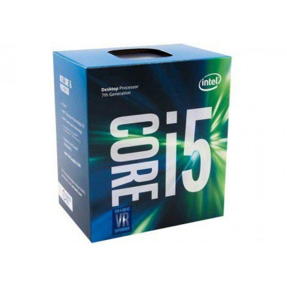 PROCESSADOR INTEL CORE I5-7400 KABY LAKE LGA 1151 3.0GHZ 6MB CACHE, BX80677I57400