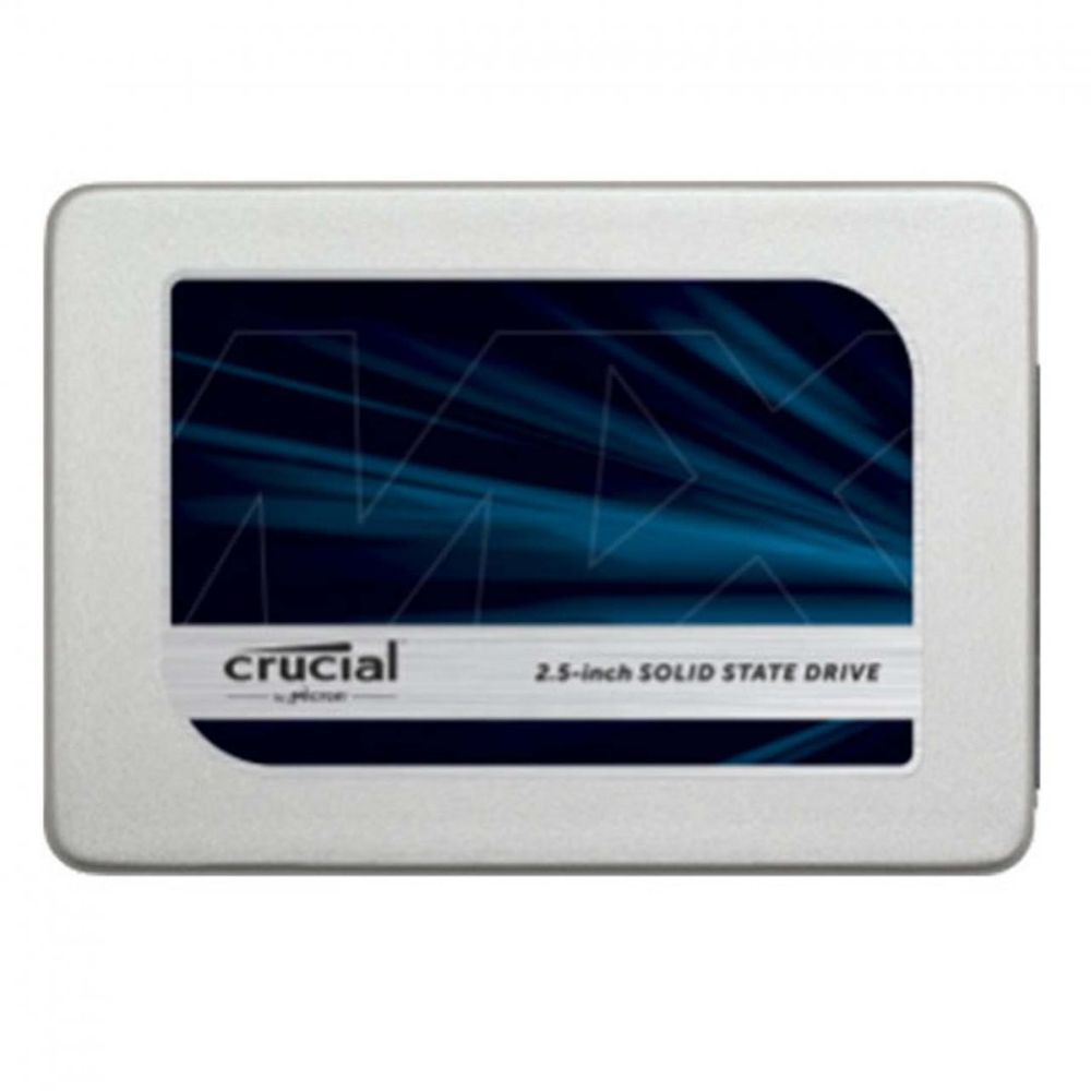 SSD Crucial 2.5´ 525GB SATA III 6Gb/s Leituras: 530MB/s e Gravações: 510MB/s - CT525MX300SSD1