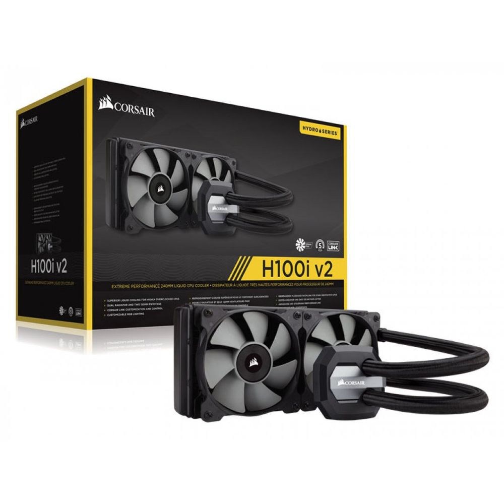 WATER COOLER CORSAIR HYDRO H100I V2, CW-9060025-WW