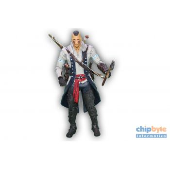 Boneco Assassins Creed Connor Mohawk - Ubisoft