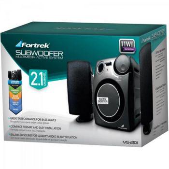 Caixa de Som Fortrek 2.1 MS-2101