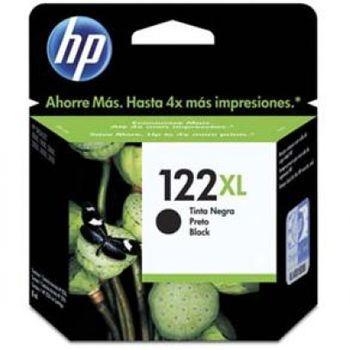 Cartucho de Tinta HP 122XL Preto Original Alto Rendimento - CH563HB