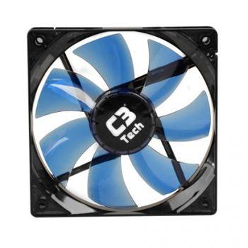 Cooler P/ Gabinete C3Tech  Azul