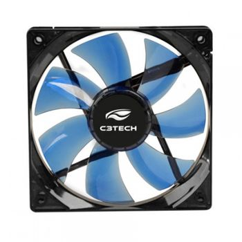 Cooler P/ Gabinete C3Tech F7-L200BL Azul