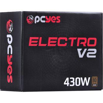 Fonte 430W Pcyes Electro V2 80Plus Bronze