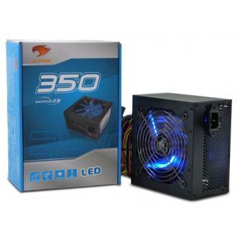 Fonte  350W G-FIRE - PG350ERGSL com Led - Azul