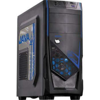 Gabinete Gamer Pcyes Java Azul