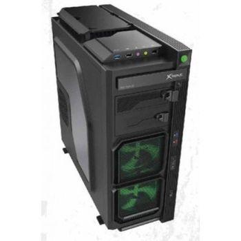 Gabinete Gamer Xtrike V9 Black/Green