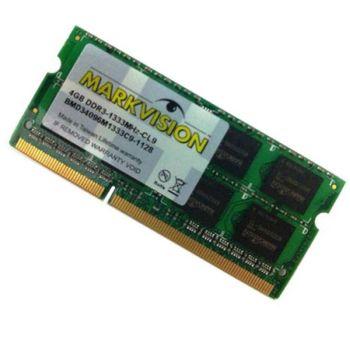 Memoria DDR3 4GB 1333 Markvision 1.5V P/Notebook