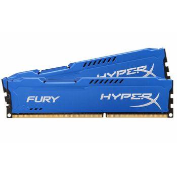 Memória DDR3 4GB 1600Mhz Kingston HyperX Fury Blue