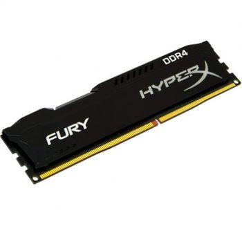 Memória DDR4 4GB 2400 Kingston HyperX Fury Black