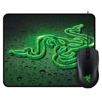 Mouse Gamer USB Razer Abyssus 2000 2000DPI + Mousepad Goliathus Speed Terra