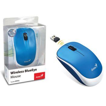 Mouse Sem Fio Genius Traveler 6000Z Azul 1200DPI