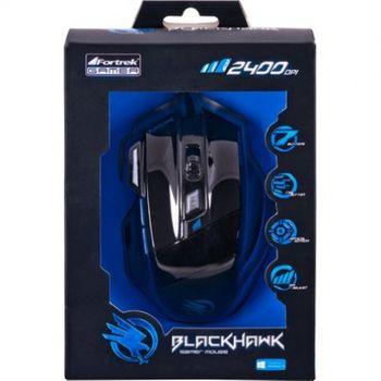 Mouse USB Fortrek Black Hawk OM-703 Gamer 2400DPI