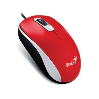 Mouse USB Genius DX-120 Vermelho 1200DPI