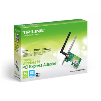 Placa de Rede Wireless TP-Link PCI Express TL-WN781ND 150Mbps
