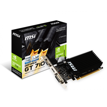 Placa de Video 1GB GT710 MSI GDDR3 64BITS 1GD3H-LP
