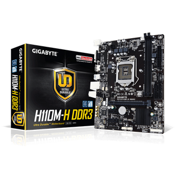 Placa Mãe Gigabyte Intel 1151 GA-H110M-H DDR3