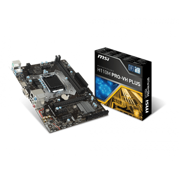 Placa Mãe MSI Intel 1151 H110M PRO-VH PLUS