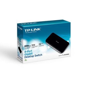 Switch 8P TPLINK TL-SG1008D Gigabit