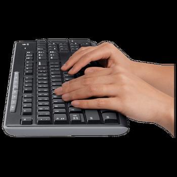 Teclado/Mouse Sem Fio Logitech MK270