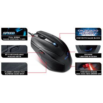 Teclado/Mouse USB Genius KM-G230 2000dpi