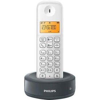 Telefone Sem Fio Digital Philips D1301WG/BR Branco