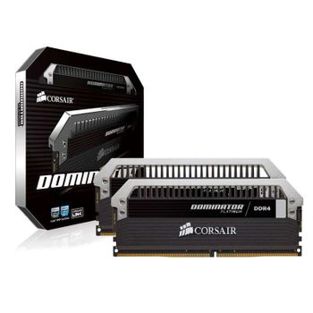 Memória Corsair Dominator Platinum 8GB (2x4GB) 3200Mhz DDR4 CL16 - CMD8GX4M2B3200C16