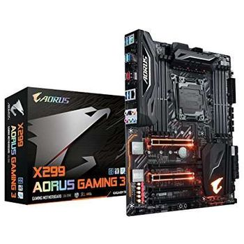 Placa Mãe GIGABYTE p/ Intel LGA 2066 X299 AORUS GAMING 3 DDR4