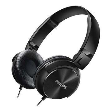 Headphone Philips Estilo DJ com Graves Nítidos - SHL3060BK/00 Preto
