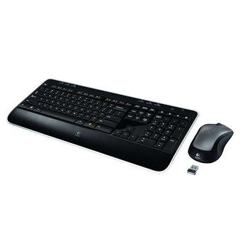 Kit Teclado e Mouse Multimidia Sem Fio Logitech MK520