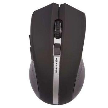 Mouse C3 Tech Sem Fio USB Preto - M-W108BK