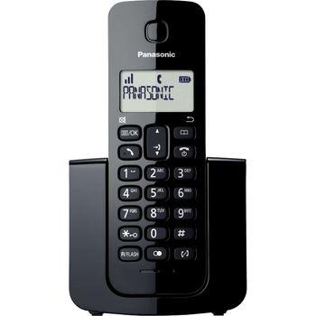 Telefone Panasonic S/Fio Dect 6.0 KX-TGB110LBB c/ ID de Chamadas 1.9Ghz - Preto