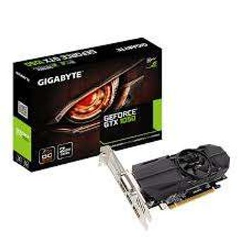 Placa de Vídeo Gigabyte Geforce GTX 1050 2GB OC Low Profile GDDR5 128Btis - GV-N1050OC-2GL