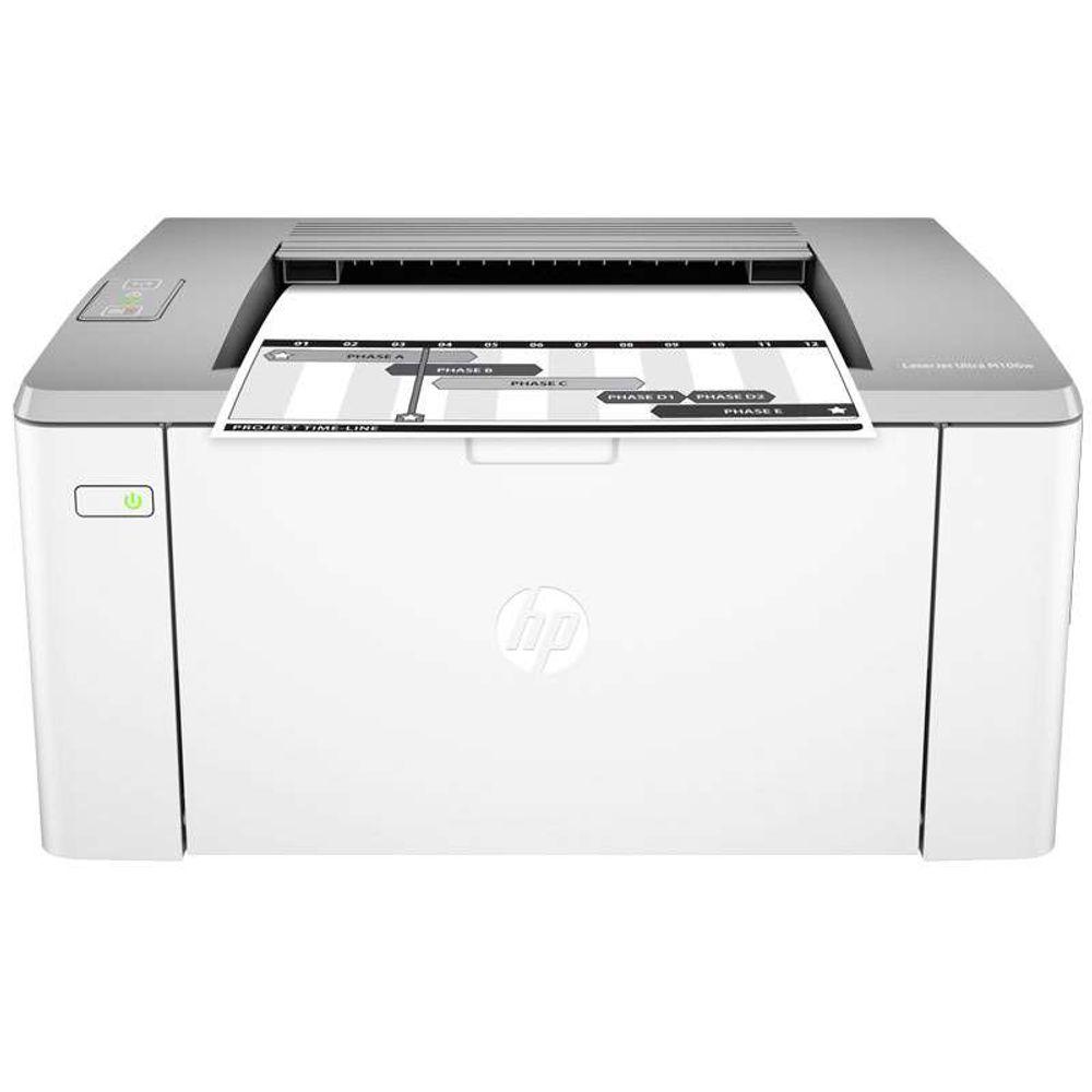 Impressora Laserjet Mono HP M106W WIFI 23 PPM - G3Q39A#696