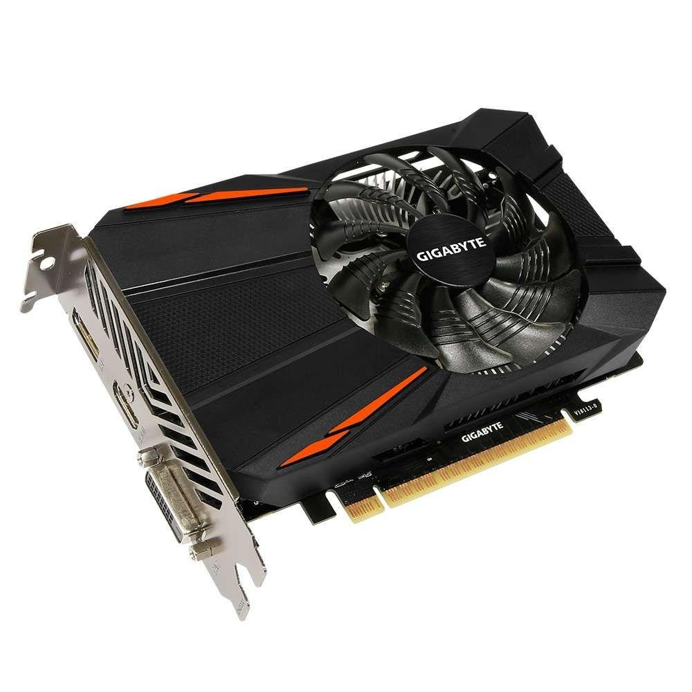 Placa de Vídeo nVidia Gigabyte Geforce GTX 1050 Ti 4G DDR5 128Bits - GV-N105TD5-4GD
