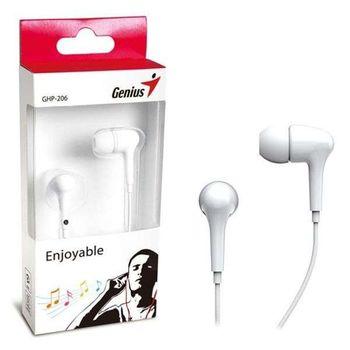 Fone de Ouvido Genius GHP-206 Branco Infra Auricular - 31710192101