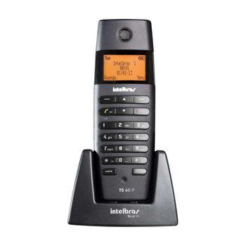 Telefone Ramal Intelbras Voip Sem Fio TS60IPR Preto